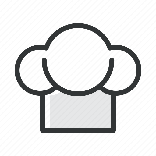 chef, food, hat, kitchen, restaurant icon