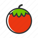 cook, food, restaurant, tomato, vegetable icon