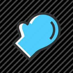 cook, gloves, kitchen, restaurant icon