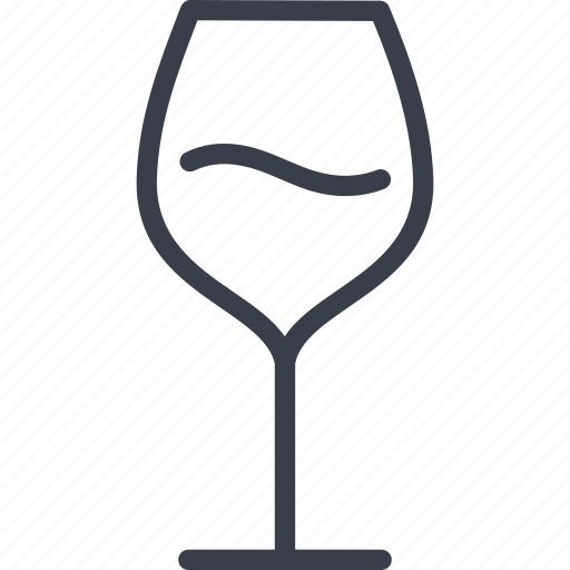 alcohol, drink, glass, restaurant, wine icon