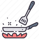cook, cooking, cuisine, culinary, food, pan icon