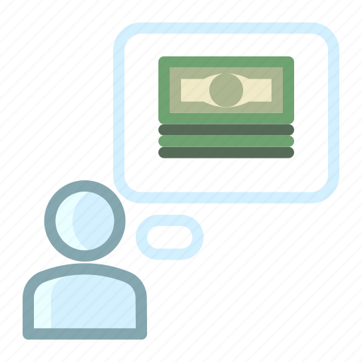 expectation  money  payment  salary icon