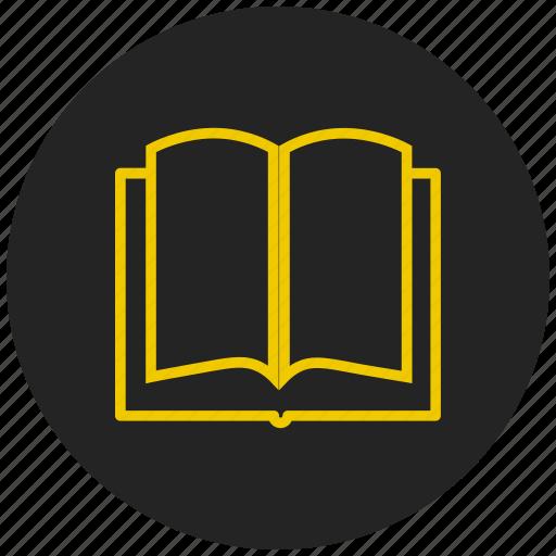 bookmark, education, files, library, magazine, read, reading icon