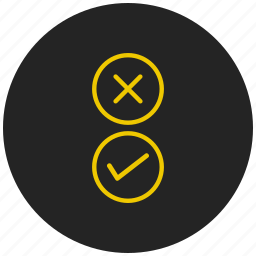 choice, choose, options, radio button, select, survey, yes or no icon