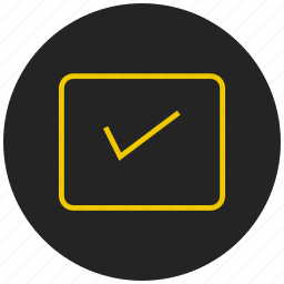checklist, select, task accomplished, task completed, tasklist, tick, to do list icon