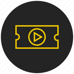 audio, media, movie, play, player, start, video icon