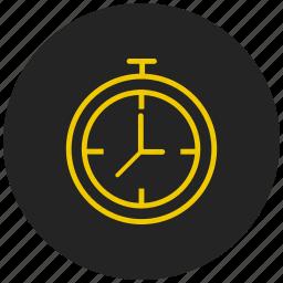 alarm, alert, clock, reminder, stop watch, time, timer icon