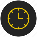 clock, alarm, watch, timer, alert, time, <!-- generator: adobe illustrator 19.0.0, reminder