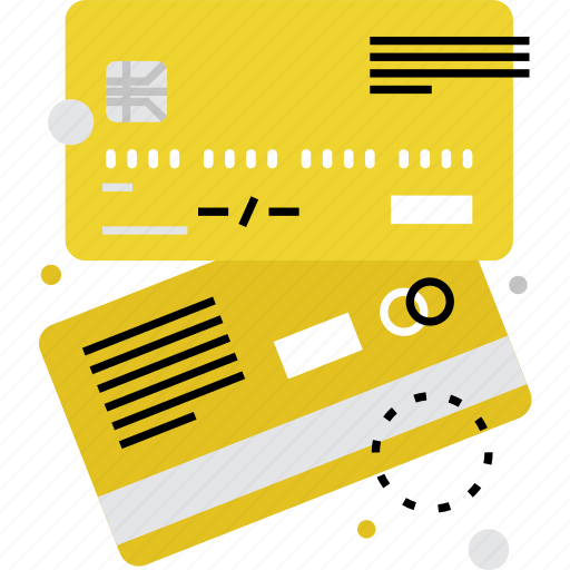 bank, card, credit, debit, deposit, finance, shopping icon