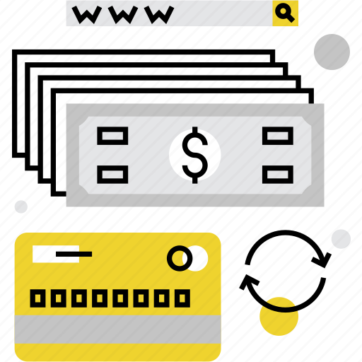 banking, convert, money, online, payment, transaction, transfer, web icon