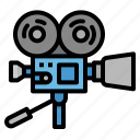 camera, cinema, entertainment, film, movie