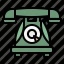 call, phone, retro, telephone, vintage