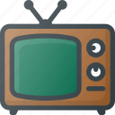 tv, old, retro