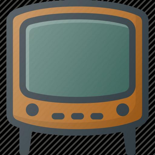 Old, retro, tv icon - Download on Iconfinder on Iconfinder