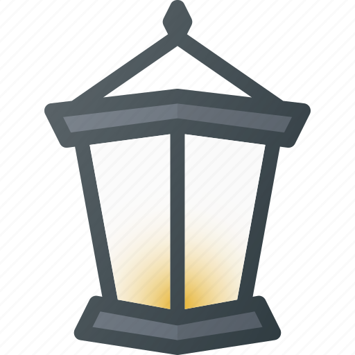 Old, retro, streetlamp icon - Download on Iconfinder