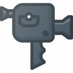 camera, old, retro, video icon