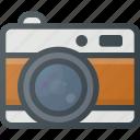 camera, old, retro