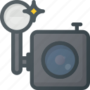 camera, old, retro icon