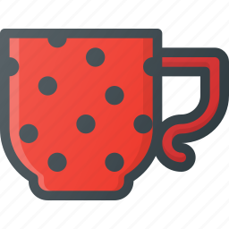 cup, old, retro, vintage icon