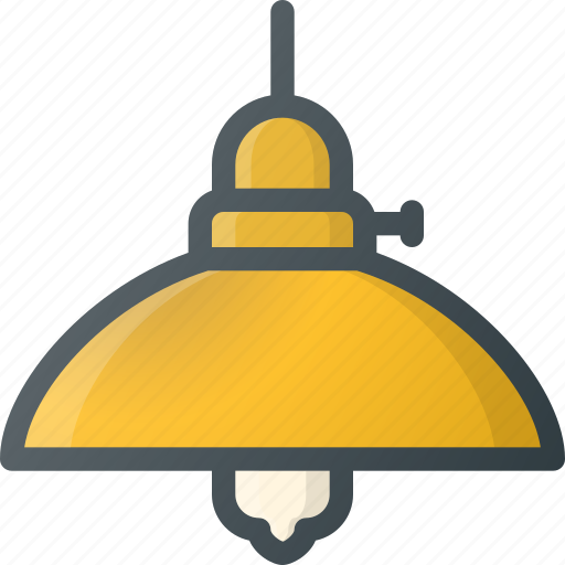 light, old, retro, vintage icon