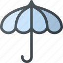 old, retro, sun, umbrella, vintage icon