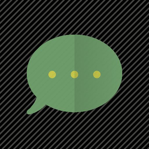 chat, conversation, message, messaging, retro, talk icon