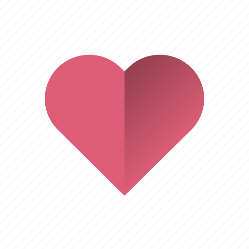 heart, like, love, retro icon