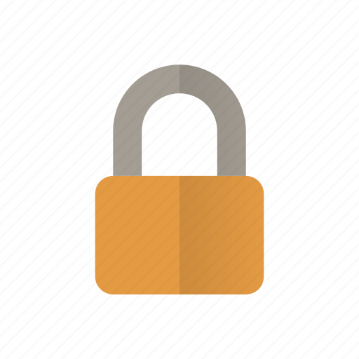 defend, lock, padlock, protect, retro, secured, security icon