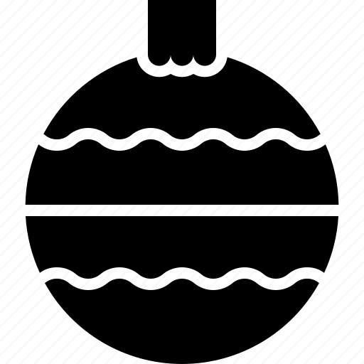 Ball, bauble, christmas, decorations, newyear icon - Download on Iconfinder