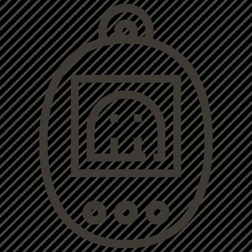 game, tamagotchi, toy icon