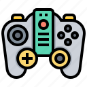 control, electronic, game, joystick, pad, technology icon