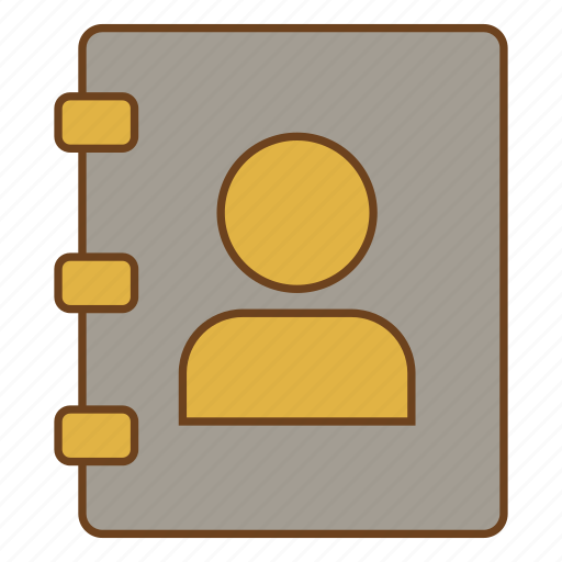 contacts, phonebook, retro, ui, user interface icon