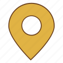 gps, location, navigator, place, retro, ui, user interface icon