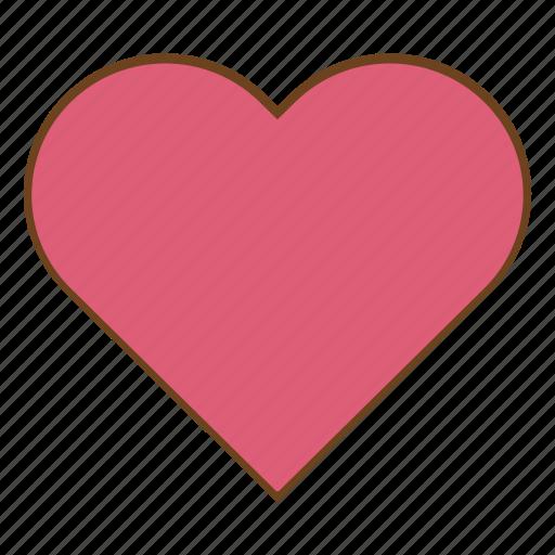 favorite, heart, like, love, retro, ui, user interface icon