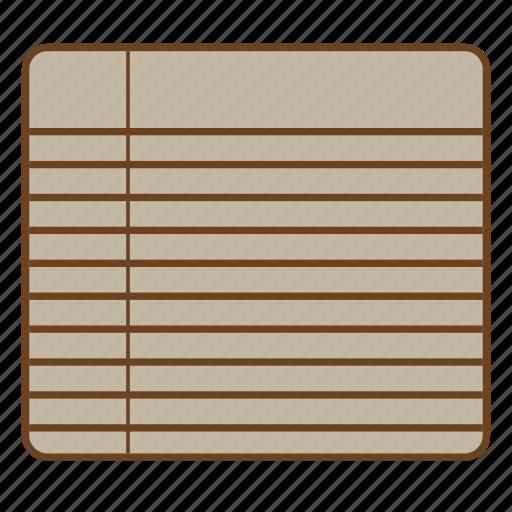memo, note, paper, reminder, retro, ui, user interface icon