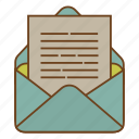 envelope, letter, message, retro, send, ui, user interface icon