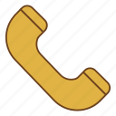 call, phone, retro, telephone, ui, user interface icon