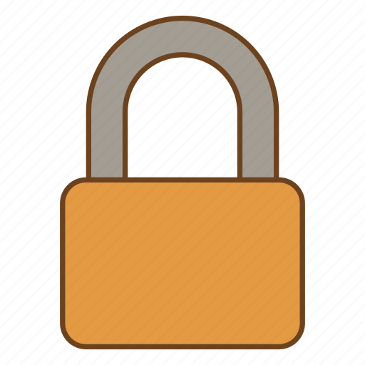 lock, protect, retro, secure, security, ui, user interface icon