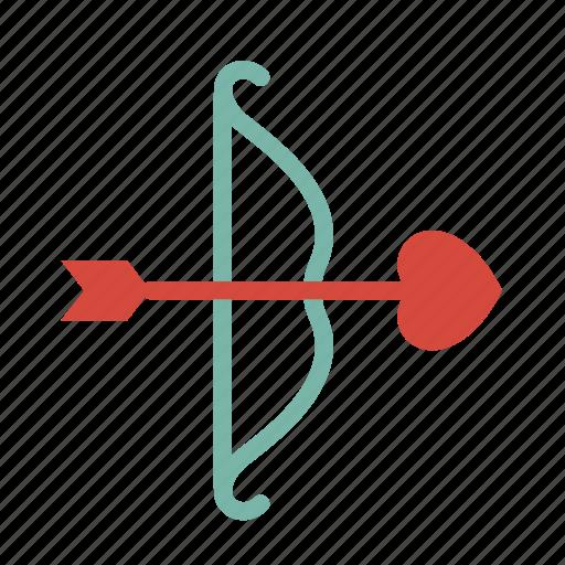 arrow, love icon