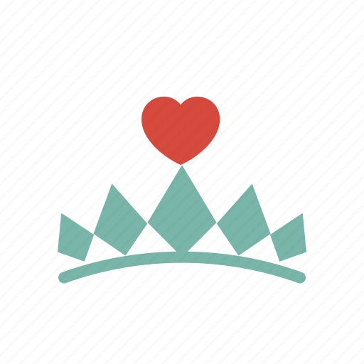 crown, love, queen icon