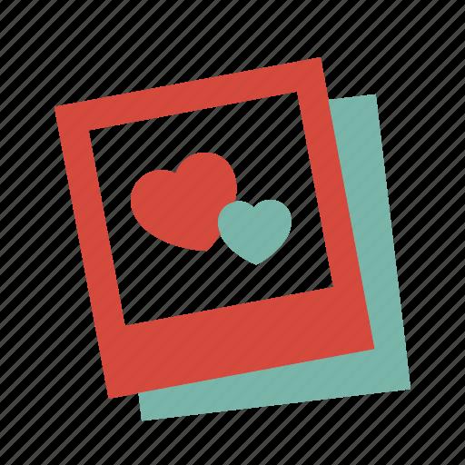 love, memory, photo icon
