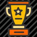 achievement, contest, cup, reward, trophy icon