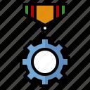 cogwheel, reward, award, engineering, industrial