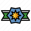insignia, badge, force, military, rank