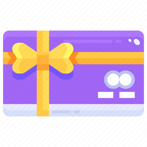 card, commerce, coupon, currency, gift, sales, voucher icon