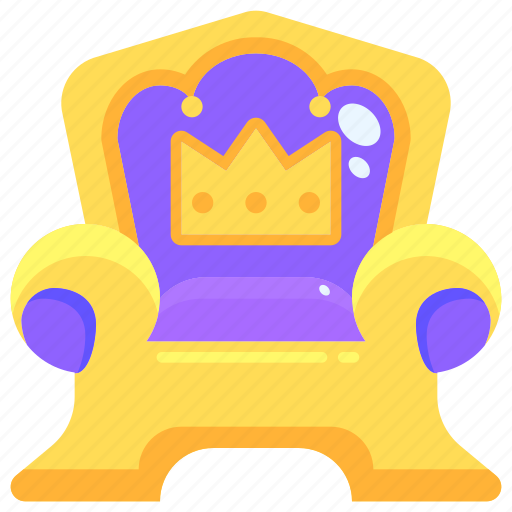 Aristocracy, medieval, miscellaneous, monarchy, royalty, throne icon - Download on Iconfinder