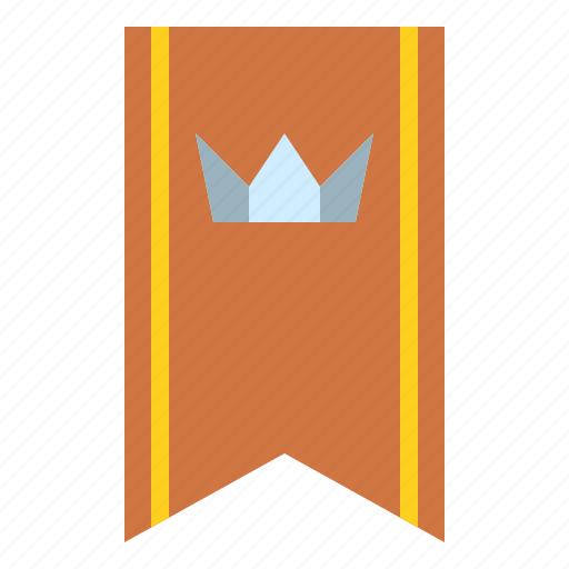 badge, crown, rank, reward icon