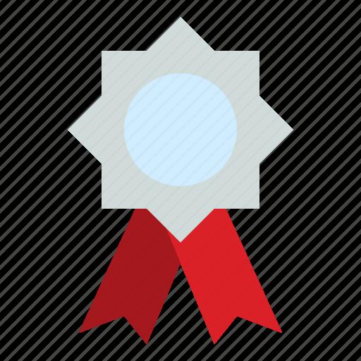 Award, badge, reward, silver icon - Download on Iconfinder