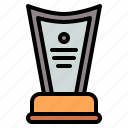 award, certificate, trophy icon