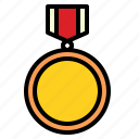 badge, good, medal, honor